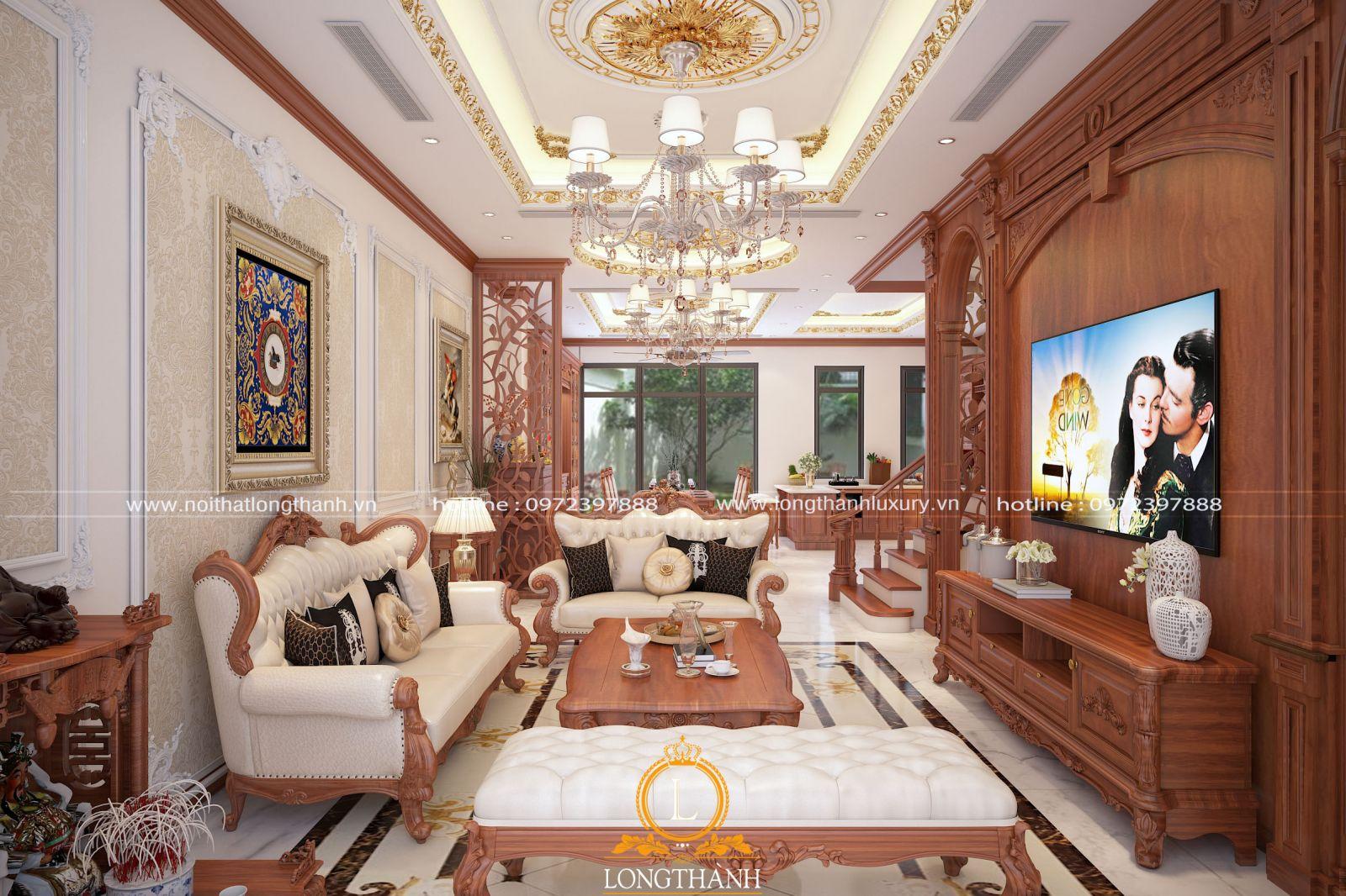 Thiết kế nội thất tân cổ điển cho nhà ống