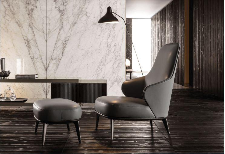 Cách chọn ghế armchair đẹp chất liệu da cao cấp