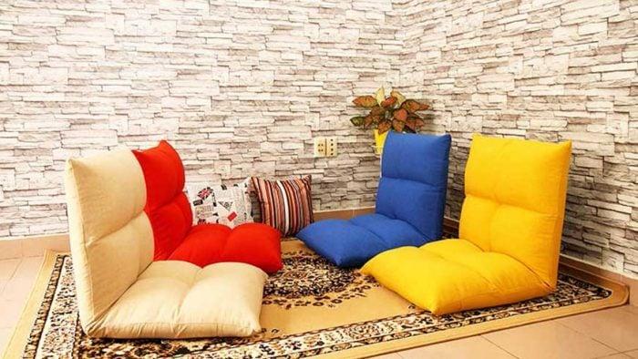 Ghế sofa đơn được thiết kế dạng bệt