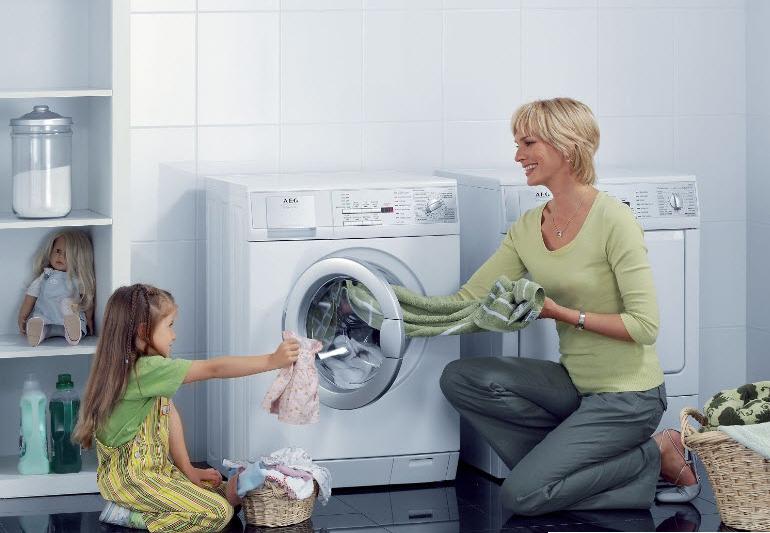 giặt giũ quần áo