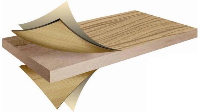 Gỗ veneer là sự tích hợp giữa gỗ tự nhiên và gỗ công nghiệp