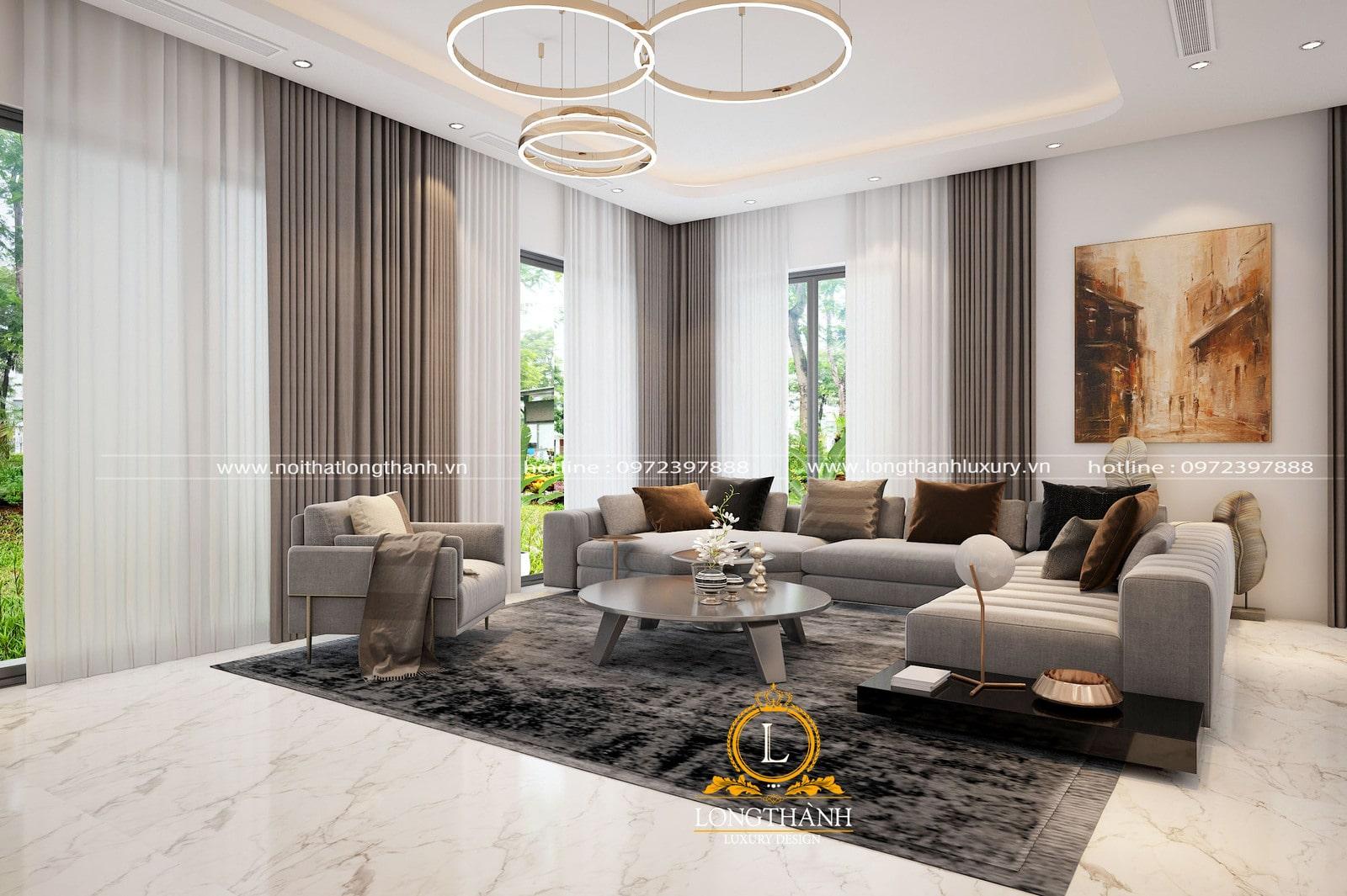 Gối tựa sofa phong cách hiện đại