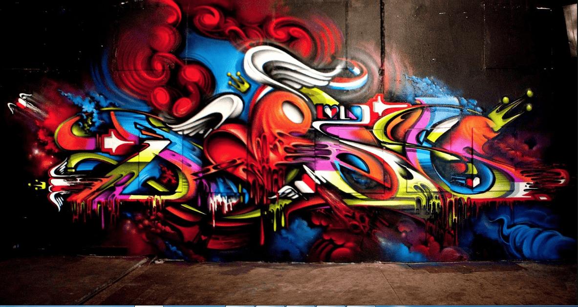 Phong cách Grafiti là gì?