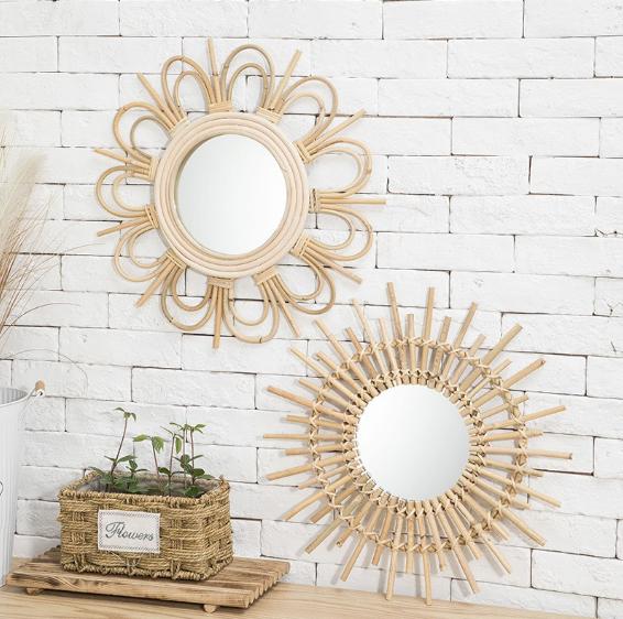 gương treo tường decor cho ngôi nhà thêm ấn tượng