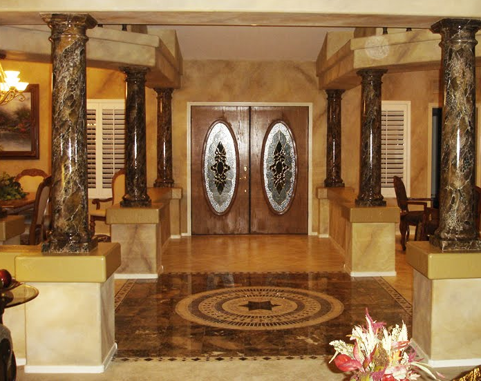 Thi công nội thất nhà sử dụng đá cao cấp thường có một số hạn chế nhất định
