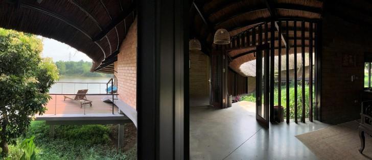 Sàn nhà thiết kế dốc theo thế đất