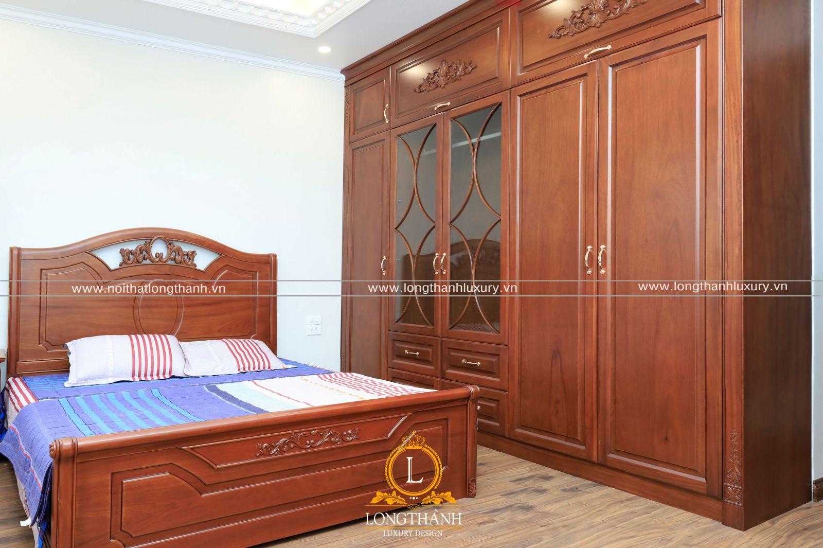 Phòng ngủ con đơn giản những vẫn đầy đủ công năng