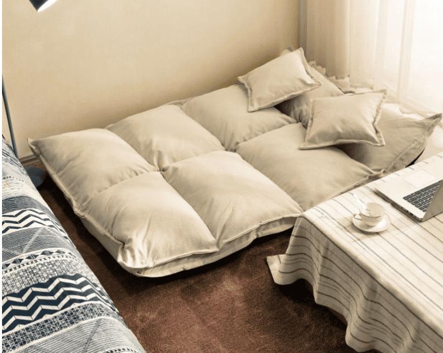Hô biến sofa bệt thành chiếc giường nhỏ nhắn