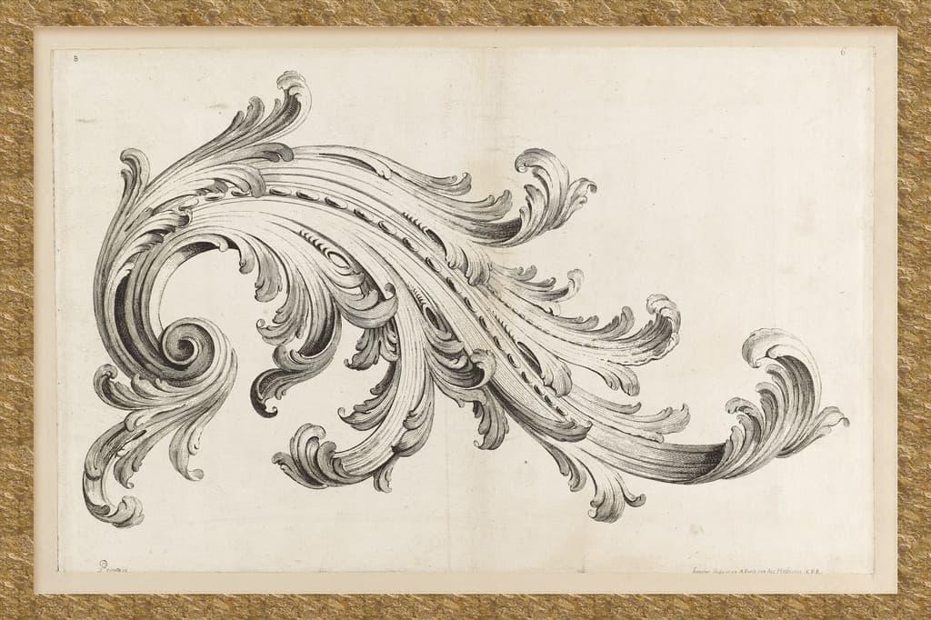 Họa tiết hoa lan tây trong thiết kế nội thất Hy Lạp