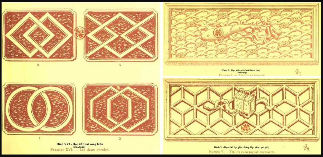 Sự giao thoa bản sắc trong phong cách thiết kế Indochine thể hiện qua hoa văn họa tiết được sử dụng