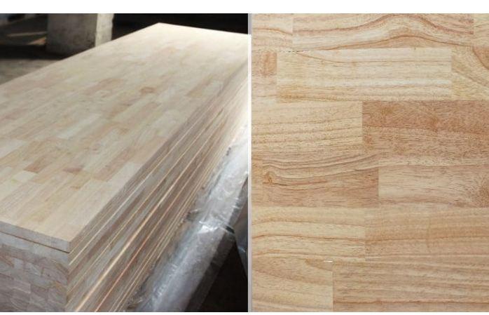 Quá trình khai thác và chế biến thành phẩm gỗ cao su