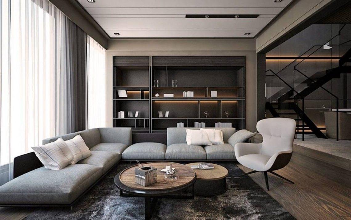Không gian tối giản nhưng thoáng đãng của nội thất đương đại
