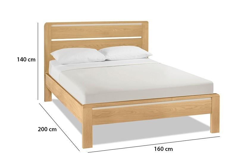 Kích thước giường đôi phong thủy