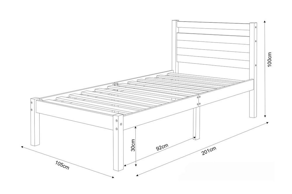 Kích thước giường ngủ đơn theo phong thủy