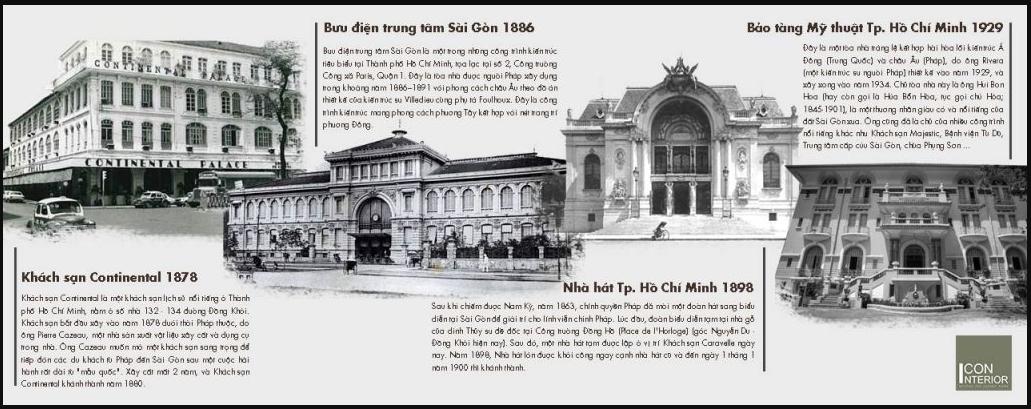Kiến trúc Indochine tại Sài Gòn