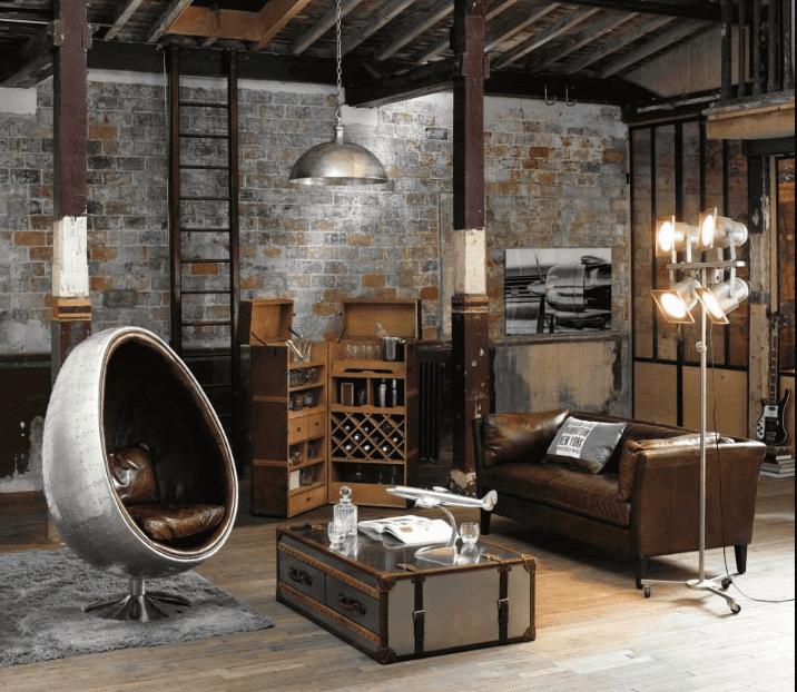 Lịch sử ra đời phong cách nội thất công nghiệp