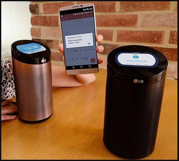Loa âm thanh của hãng LG kết hợp với hệ thống cảm biến của điện thoại