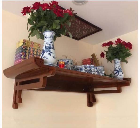 Cần phải lưu ý khi chọn bàn thờ treo tường cho thiết kế nhà chung cư