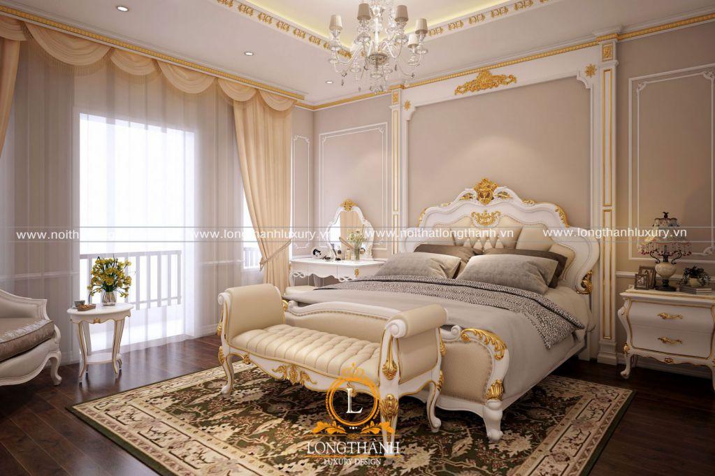 Mạ vàng cho đồ nội thất phong cách tân cổ điển
