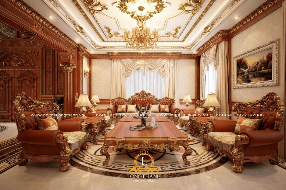 Mạ vàng xu hướng thời thượng tượng trưng cho Hoàng gia, quý tộc