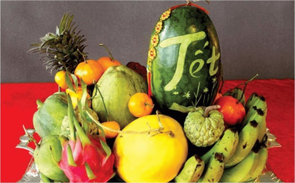 Mâm ngũ quả một nét văn hóa đặc trưng trong những ngày tết của người Việt