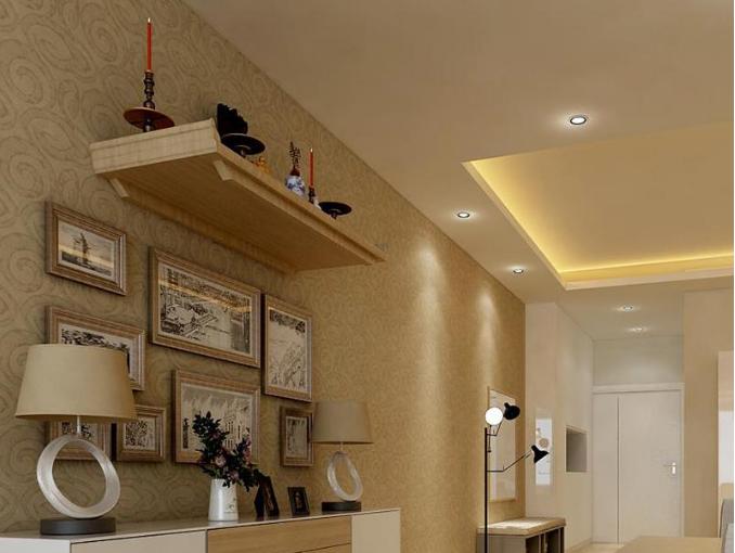Mẫu bàn thờ treo tường cho nhà chung cư theo phong cách hiện đại