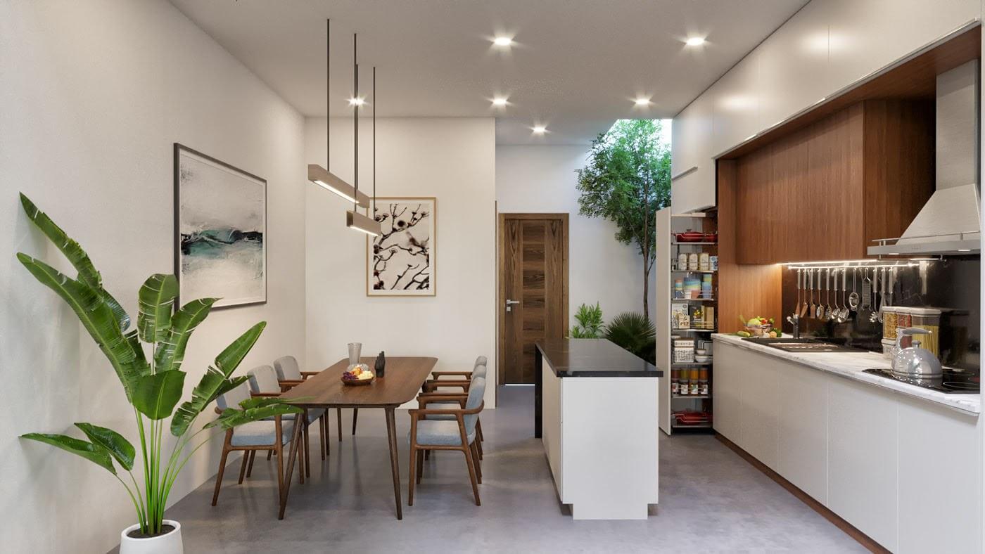 Mẫu phòng ngủ được thiết kế theo phong cách Bauhaus