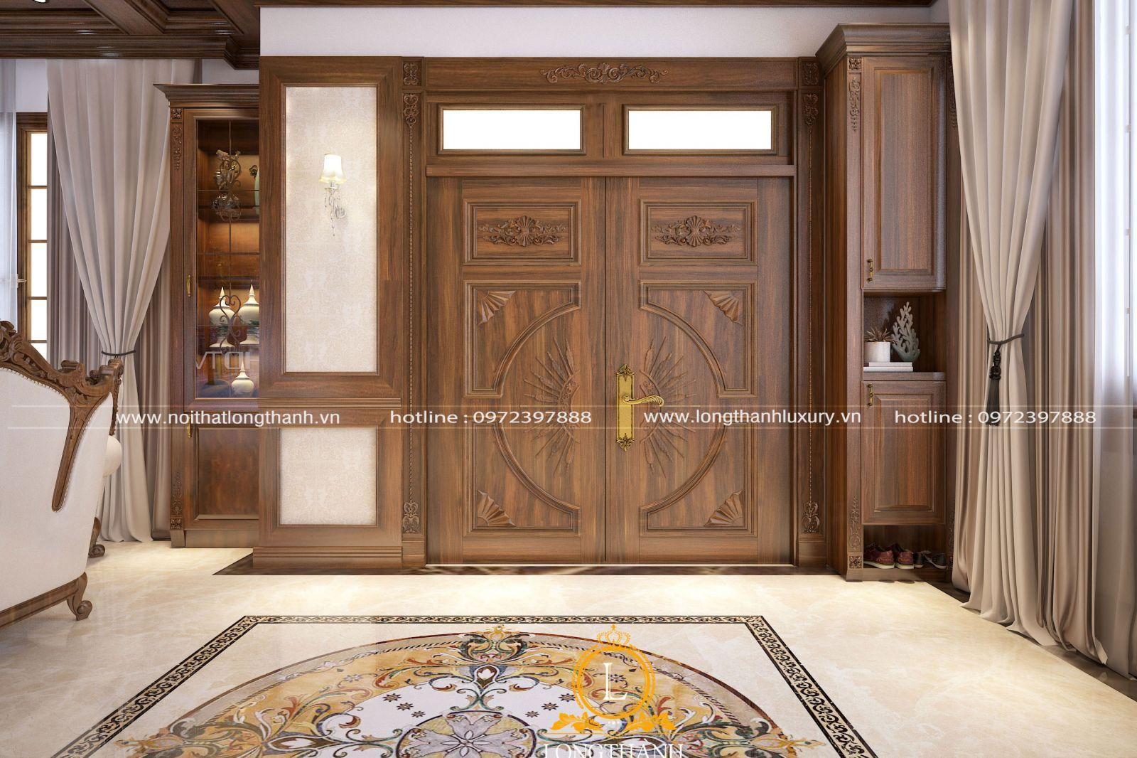 Cửa gỗ tự nhiên là loại cửa được làm từ chất liệu gỗ tự nhiên trong rừng