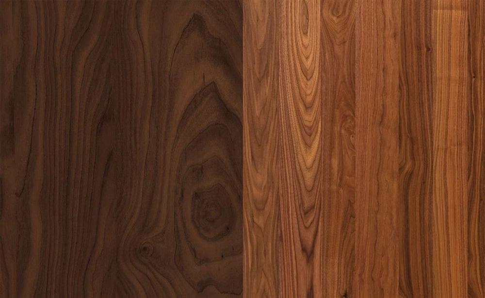Màu gỗ óc chó Bắc Mỹ đậm hơn gỗ óc chó Nam Phi