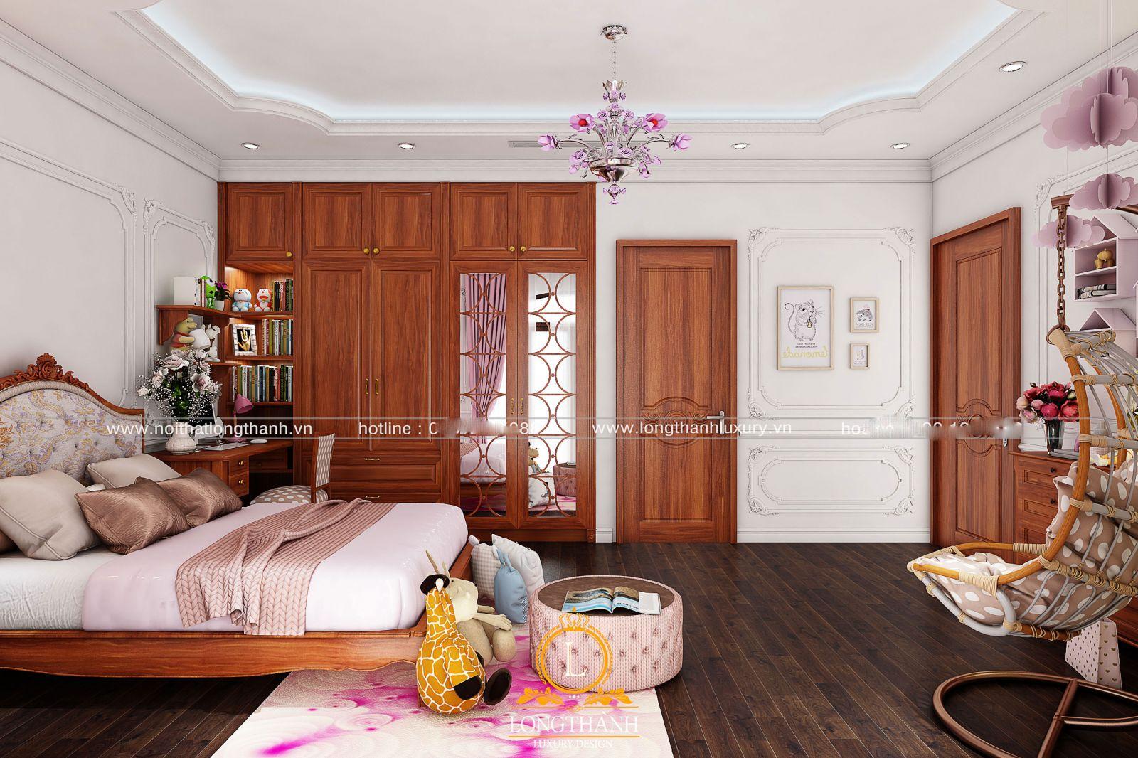 Một phòng ngủ hiện đại vừa đáp ứng được vẻ đẹp thẩm mỹ, vừa đáp ứng nhu cầu công năng sử dụng