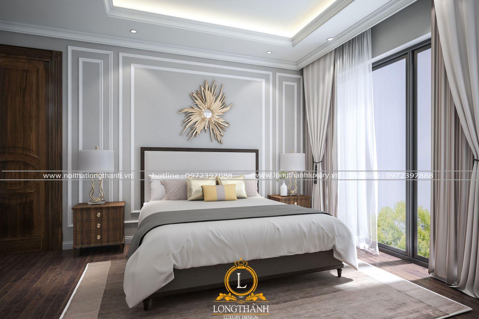 Mẫu phòng ngủ hiện đại cho chung cư sang trọng