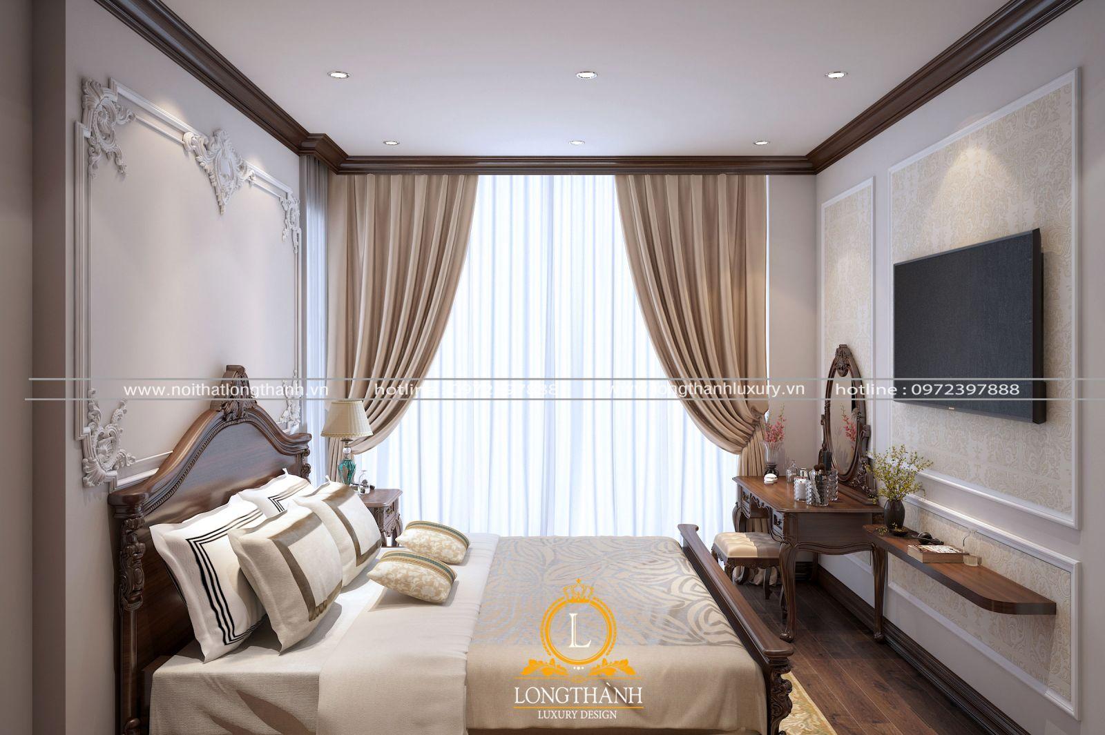 Tổng thể không gian nội thất đẹp cho nhà chung cư