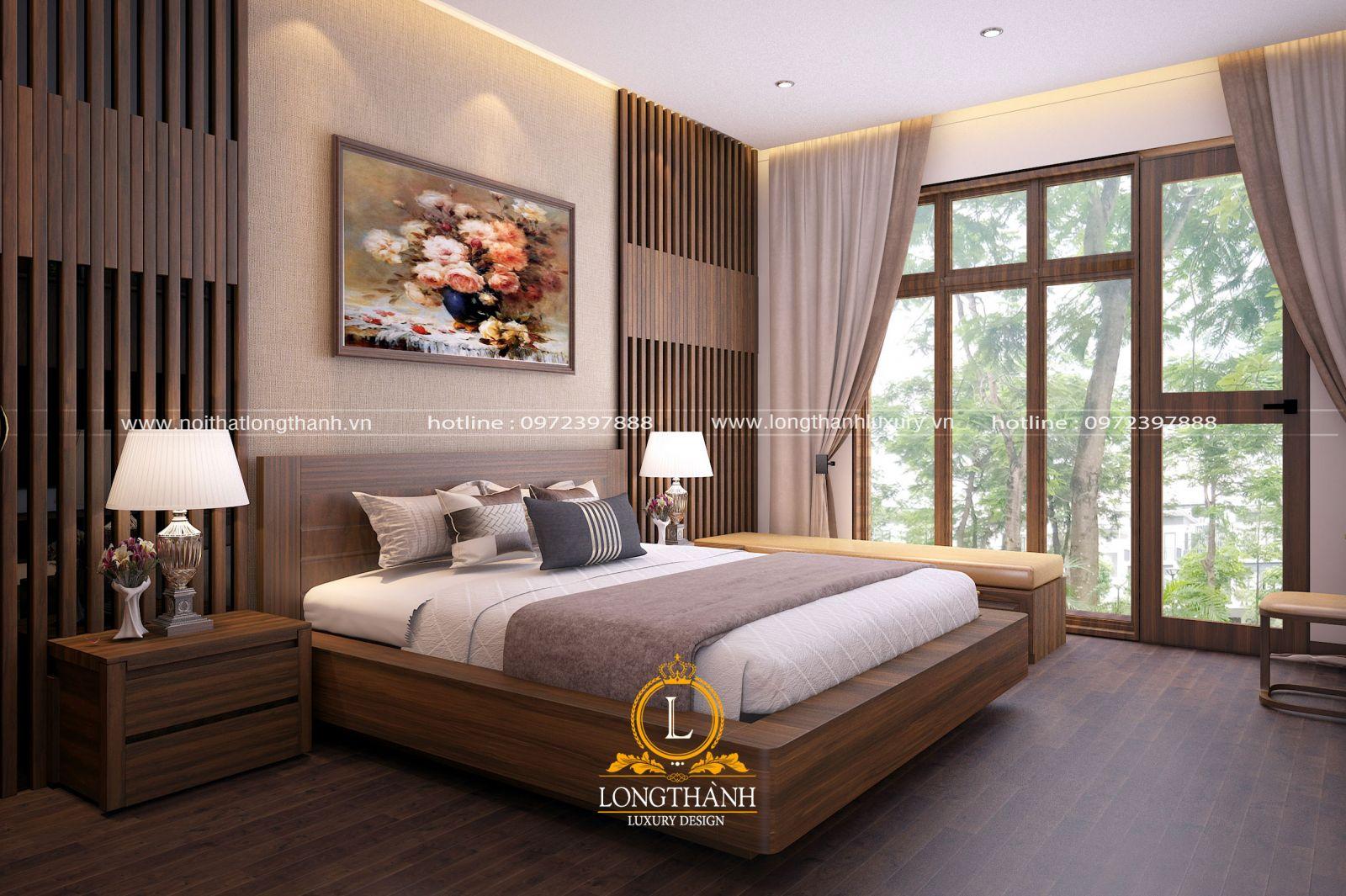 Mẫu phòng ngủ phong cách hiện đại đẹp và tiện nghi