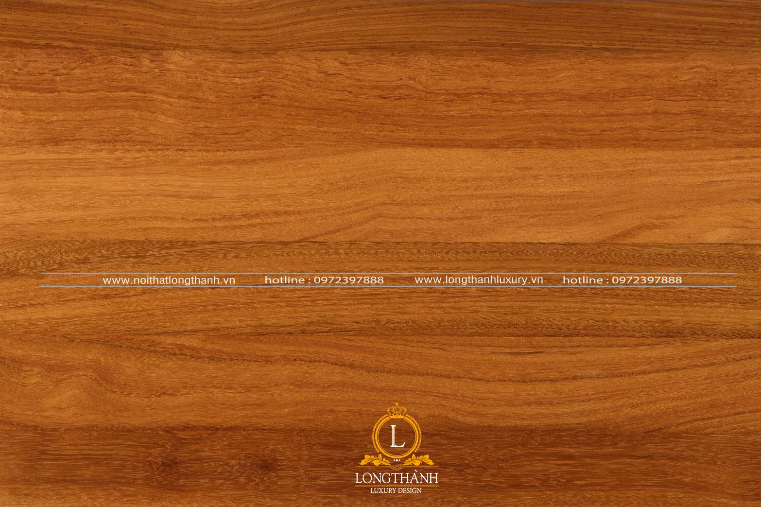 Màu sắc và đường vân gỗ độc đáo