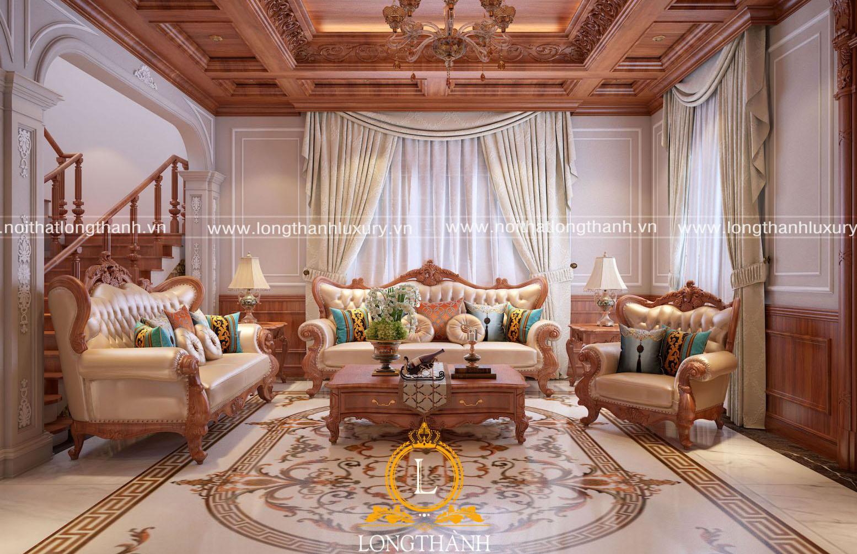 Mẫu sofa phù hợp cho phòng khách biệt thự nhỏ xinh