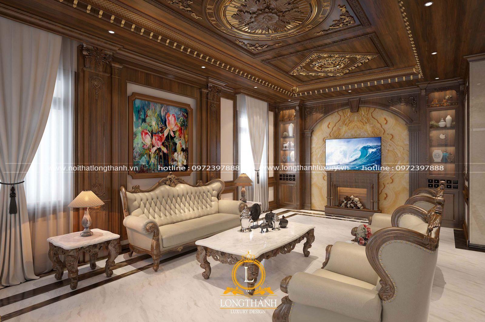 Mẫu sofa đẹp dễ dàng kết hợp với các món đồ nội thất khác