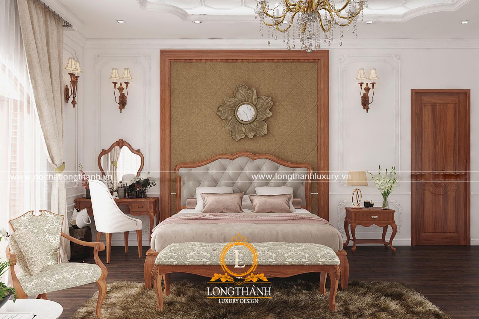 Mẫu táp đầu giường bằng gỗ đơn giản