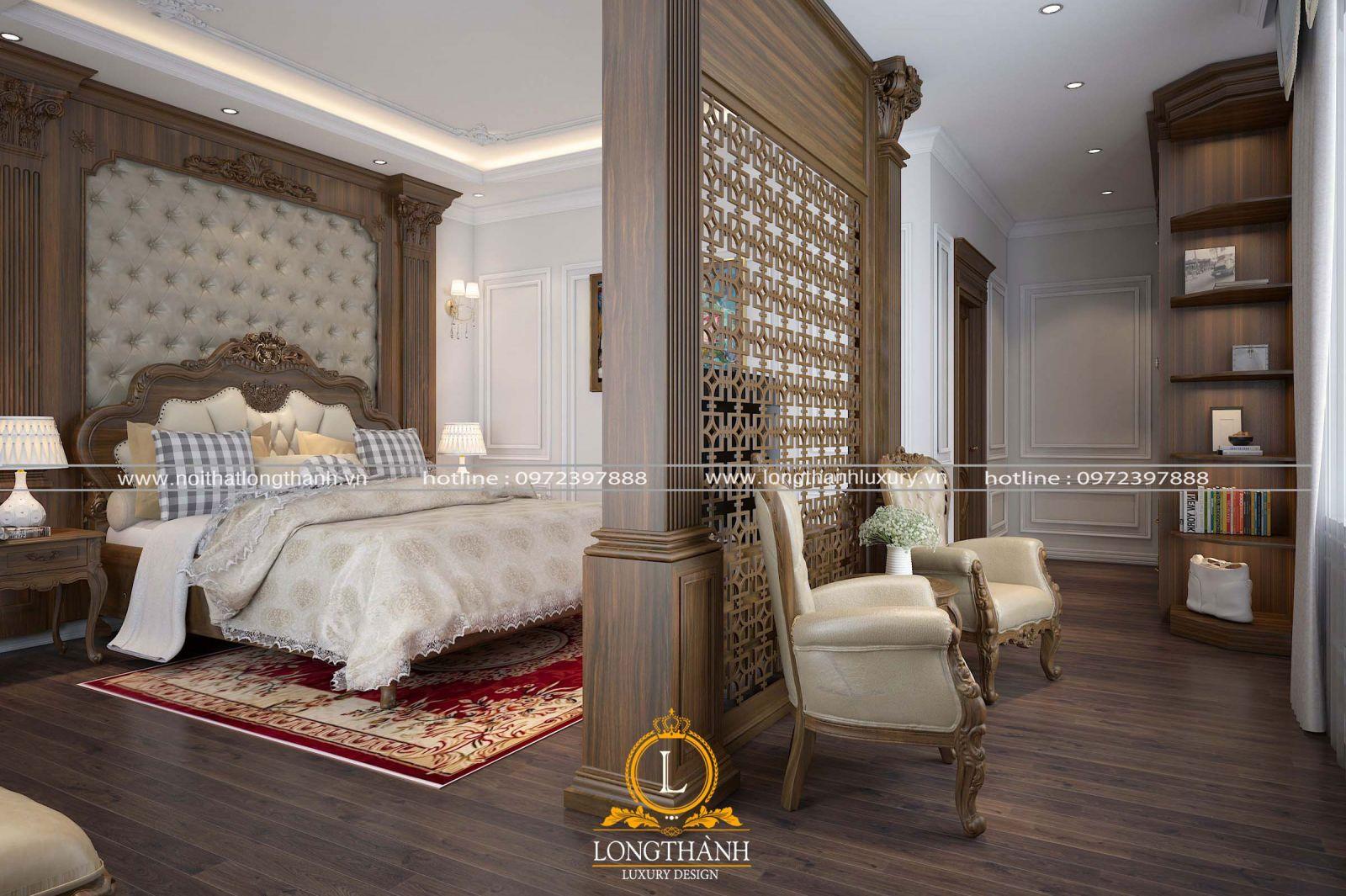 Thiết kế nội thất phòng ngủ cho nhà ống đẹp cuốn hút