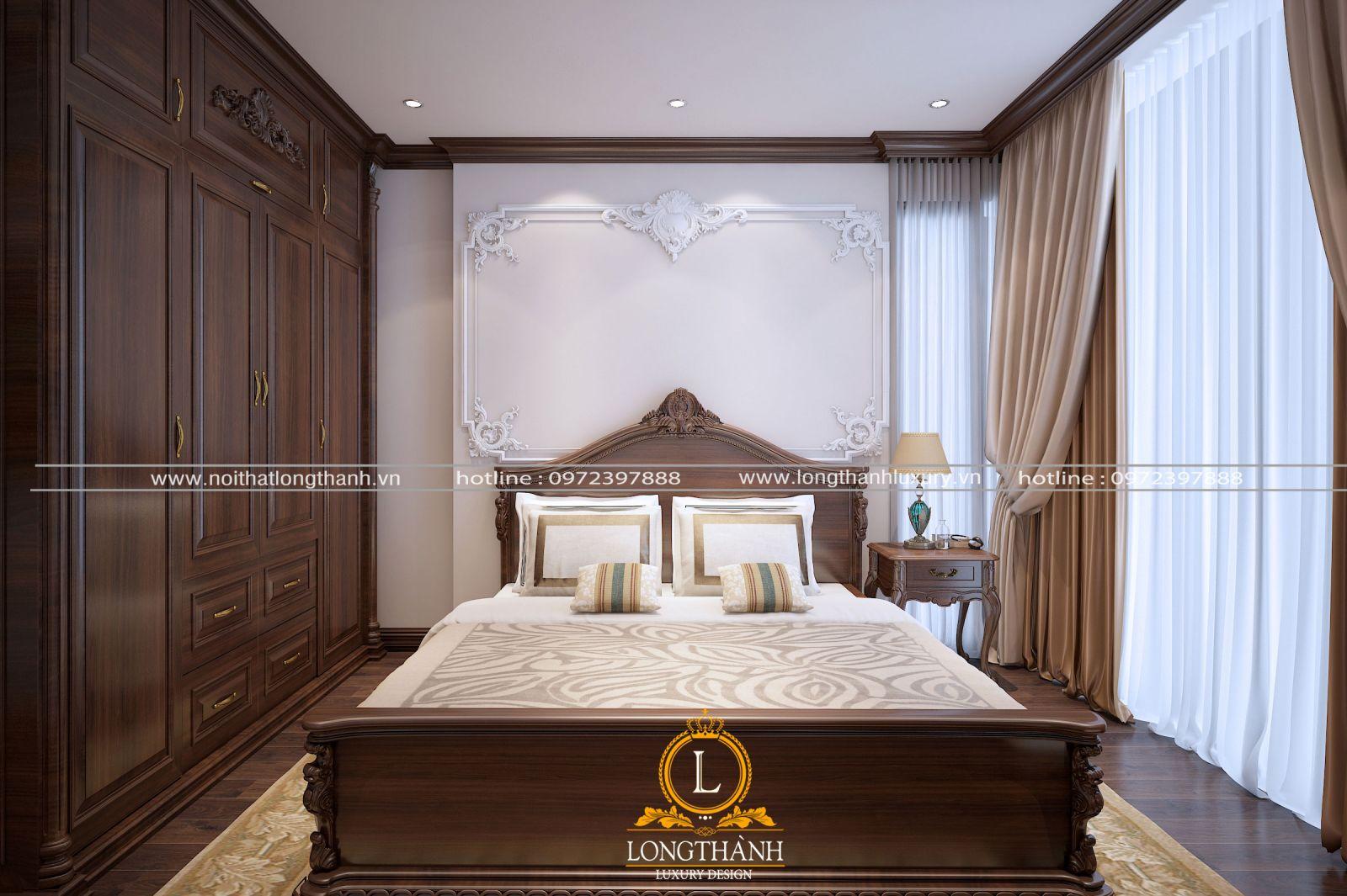 Nội thất phòng ngủ đẹp cho căn hộ chung cư