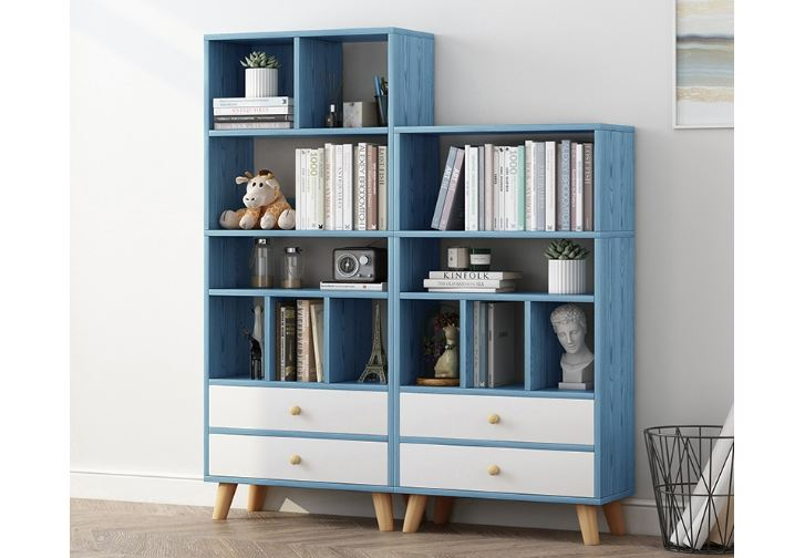 Mẫu tủ sách đẹp và hiện đại với với nhiều công năng sử dụng