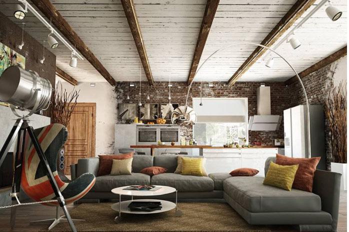 Nguyên liệu vải thô dùng cho phòng khách