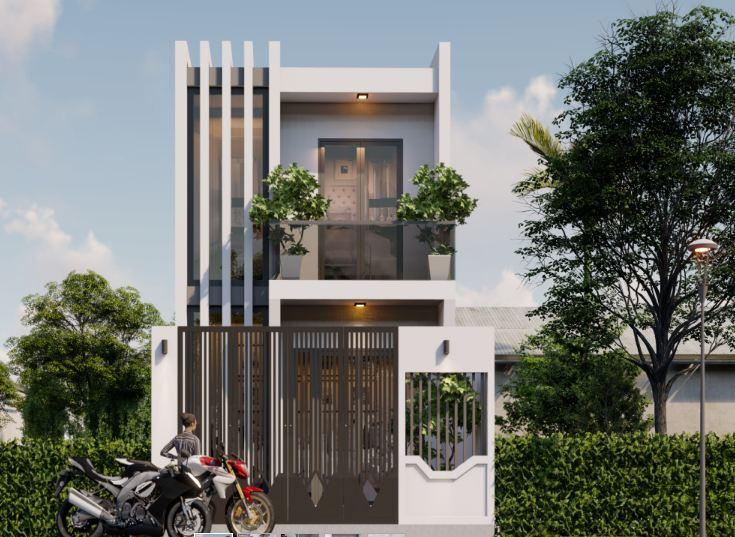 Nhà hai tầng và thiết kế bàn thờ cho nhà 2 tầng