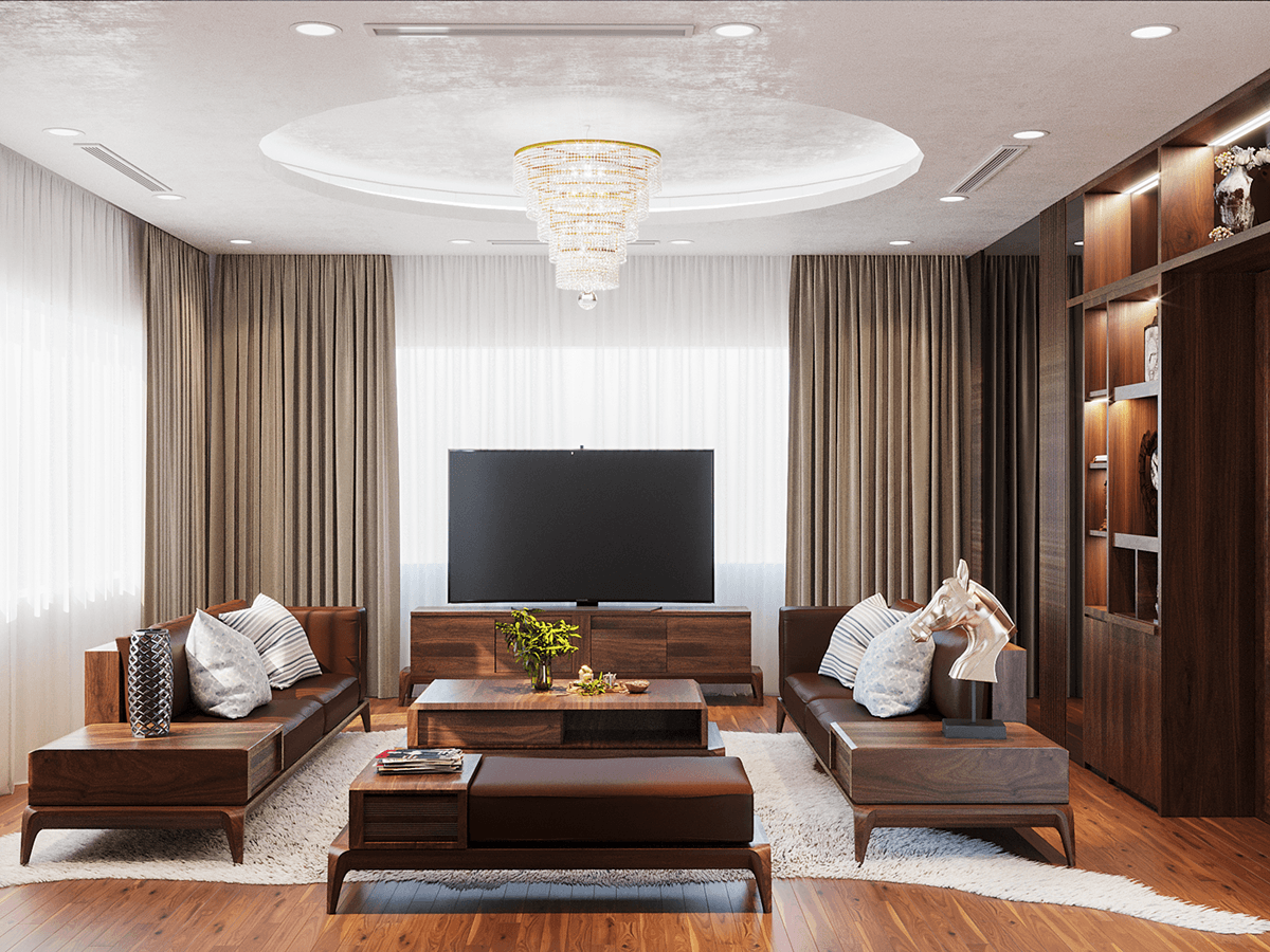 Những chi tiết nội thất sáng tạo cho phòng khách hiện đại