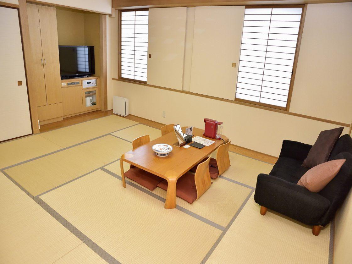 Thiết kế nội thất phòng khách Nhật theo kiể truyền thống