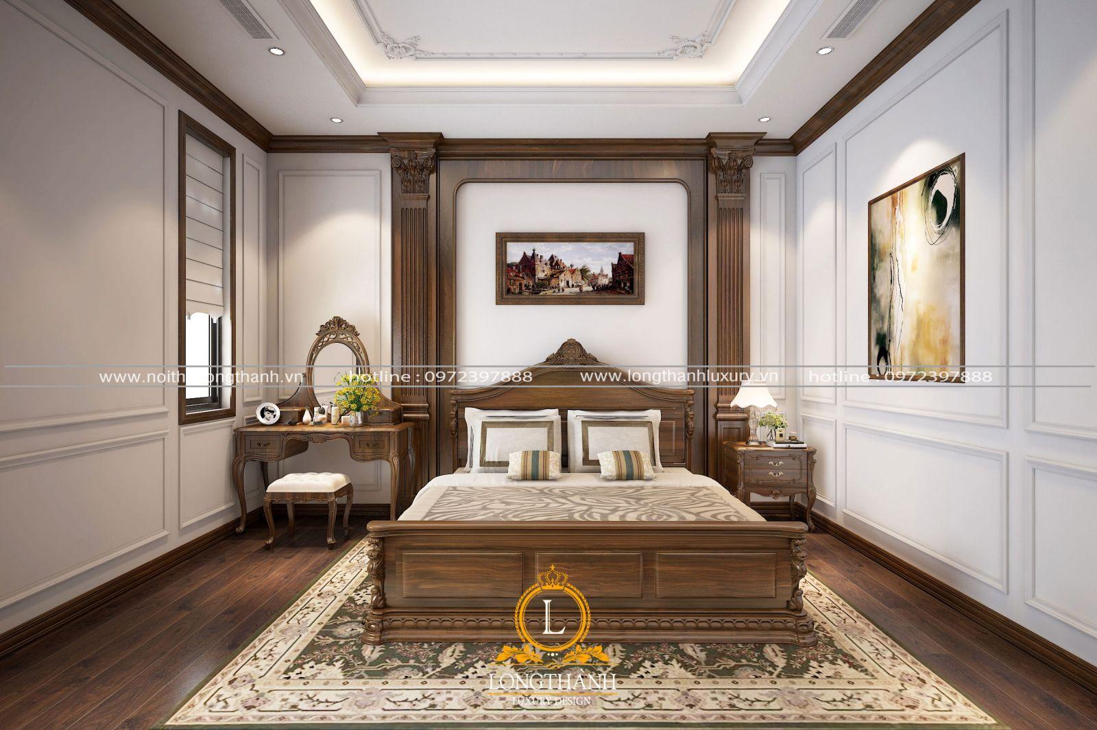 Nội thất phòng ngủ cho những người thích sự nhẹ nhàng