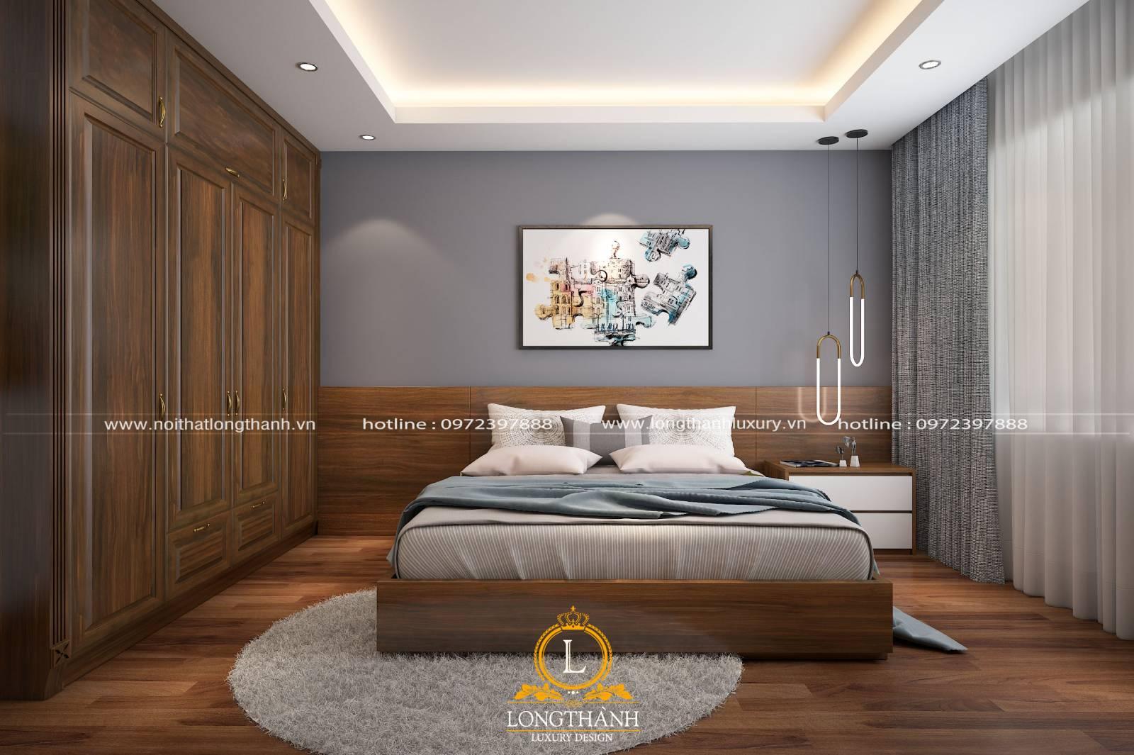 Nội thất phòng ngủ tân cổ điển mang lại vẻ đẹp sang trọng hiện đại