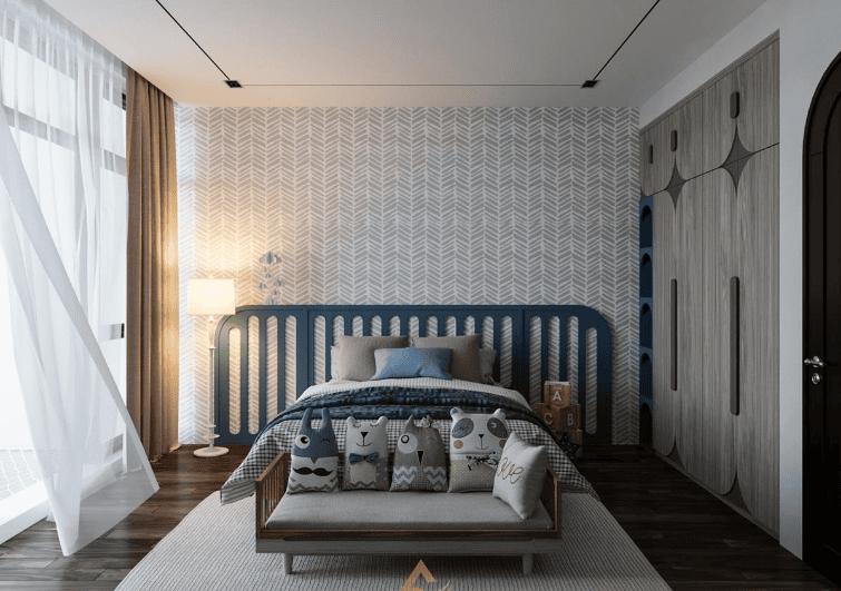 Thiết kế phòng ngủ trẻ em Indochine