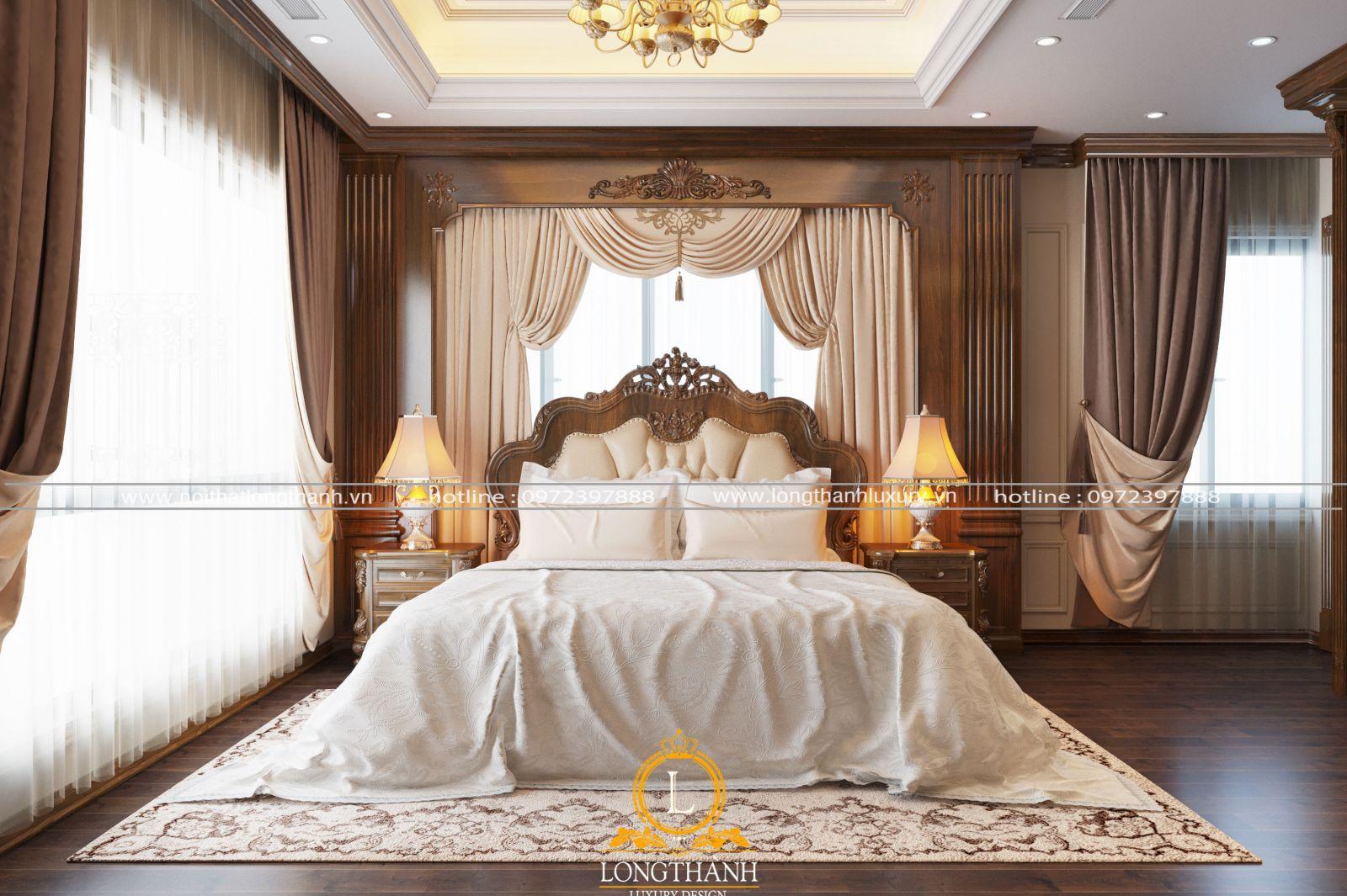 Phòng ngủ nhỏ nên ưa tiên lựa chọn phong cách nhẹ nhàng, đơn giản