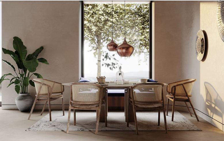 Thiết kế nội thất Zen luôn thân thiện hòa đồng với thiên nhiên