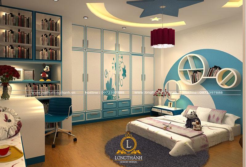 Phòng ngủ hiện đại đẹp được bố trí hợp lý